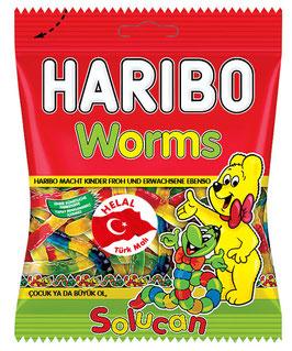 HARIBO Würmer • Helal • Helal