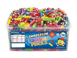 Rainbow Mini Pencils (1P) - Halal