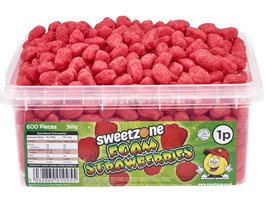 Foam Strawberries (1P) - Halal
