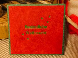 """Leporello """"Besinnliche Weihnacht"""""""