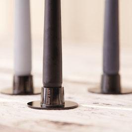 Kerzenhalter schwarz matt 1Stk.
