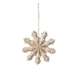 Deko Snowflake  Natural