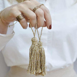 Cotton Tassel Girlande