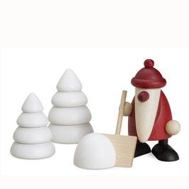 Mini - Weihnachtsmann - Set