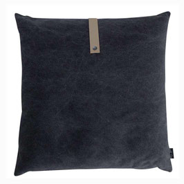 Kissen Canvas black