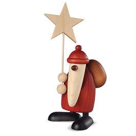 Weihnachtsmann in stolzer Größe
