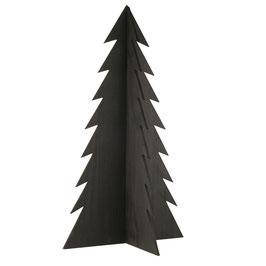 Holztanne schwarz