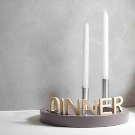 EMI - Schriftzug DINNER