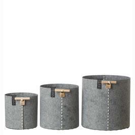Outdoor Ecofelt Grey