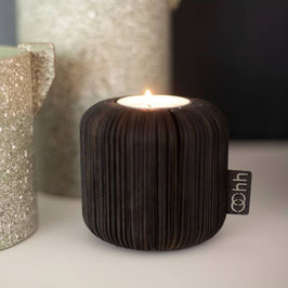 Fan tealight holder