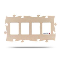 Puzzle Rahmen 4mal 13x18cm