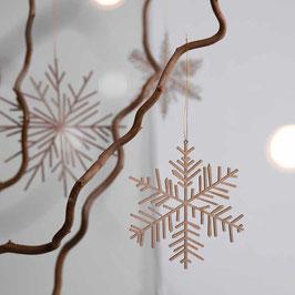 Eis & Schnee Holzornament