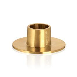 Kerzenhalter gold matt