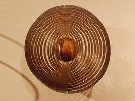 Spiralenmobile mit gedrechselter Holzkugel