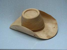Holzhut gedrechselt zum Tragen