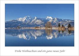"""Weihnachtskarte """"Winter am Eichsee"""""""
