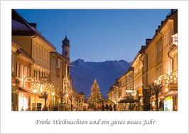 """Weihnachtskarte """"Weihnachtliches Murnau"""""""