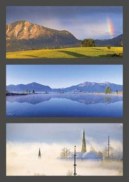"Postkarte ""Jochberg | Eichsee | Großweil"""