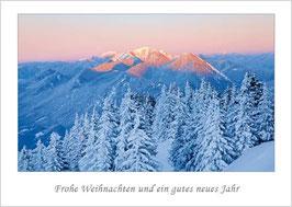 """Weihnachtskarte """"Winterabend"""""""