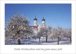 """Weihnachtskarte """"Kloster Benediktbeuern"""""""