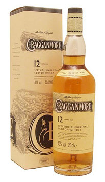 Cragganmore Speyside, 12 years 70cl