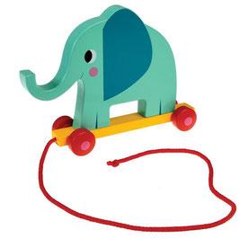 Elvis l'éléphant - jouet à tirer ou à pousser