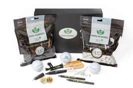 Premium Golf Geschenk & Komplettset von Papa Hummel