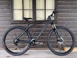 Glanzrad Mountainbike Mattschwarz - 29 Zoll - Rahmenhöhe 48cm