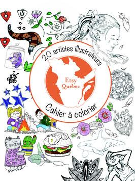 Cahier à colorier (PDF non imprimé)