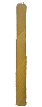 TRÈS GRANDE  bougie d'havdala spirale 41,5 cm