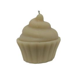 Bougie muffin écru