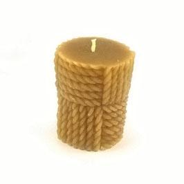 Cylindre avec tissage jaune