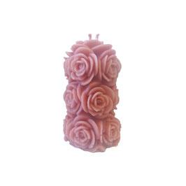 Bougie pour la havdala bouquet - rose