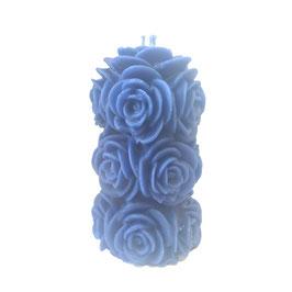Bougie pour la havdala bouquet - bleu