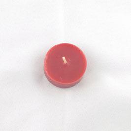 Bougies chauffes-plat rouge
