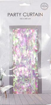 Party Vorhang für die Feier - 100cm breit und 240cm hoch- in vielen Farbtöne verfügbar - Schwer entflammbar
