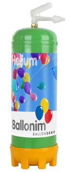 Helium Ballongas Einwegflasche 0,22m³ zum Befüllen von ca. 30 Luftballons