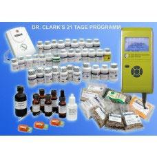 21-Tageprogramm nach Dr. Clark bei fortgeschrittenen Krebsgeschehen.