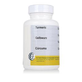 Gelbwurz (Curcuma, Turmeric), 600 mg 120 Kapseln