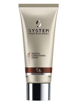 SP EnergyCode™ LuxeOil Keratin Conditioner Cream 200ml – L2 • Für sofortige Geschmeidigkeit und Keratinschutz