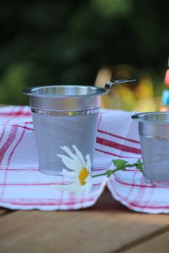 Teefilter aus Edelstahl (gross)