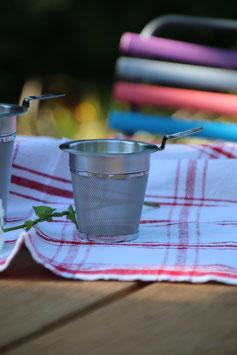 Teefilter aus Edelstahl (klein)