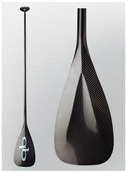 "QB ""V-Drive"" All Carbon Paddle + Bag"