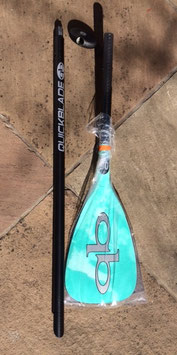 "Quickblade ""Kanaha FG/CA 90 Travel Paddle - fix lenght"""