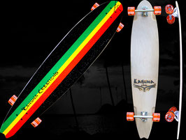 "Retrofish Beach Board 48"" - Rasta"