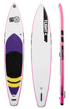 "Light  ""RS silver TOURER PINK  11´6""  x 31"" x 6"""