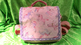 Rucksack Einhorn rosa