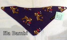 Halstuch Bambi lila