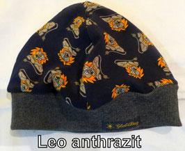 Mütze Leo anthrazit