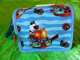Kindergartentasche Piratenschiff